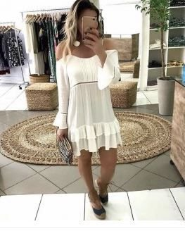 Vestido curto Catarina - Linha Luxo