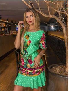Vestido Green - Linha Luxo