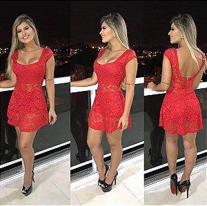 Vestido Angel - Renda