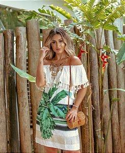 Vestido Palmeira - Linha Luxo