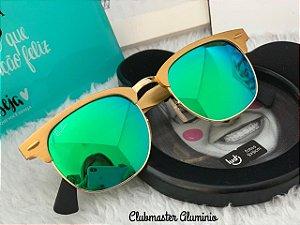 Óculos Rayban Club Master Alumínio Espelhado
