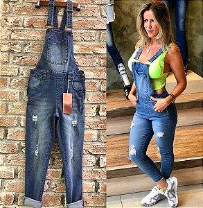 Jardineira Dardak Jeans