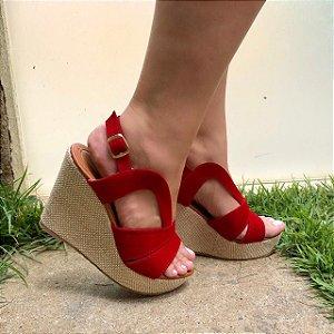 Sandália Coleção Folia Red Lola