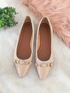 Sandália Coleção Glamour Sapatinha Bico