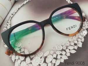 Óculos Cat eye Fendi 9008