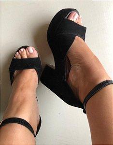 Sandália Coleção Fashion Pretinho