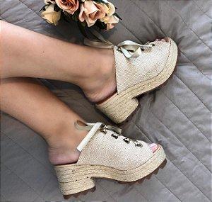 Sandália Coleção Fashion Luxo
