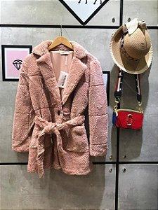 Trend Coat Pelúcia