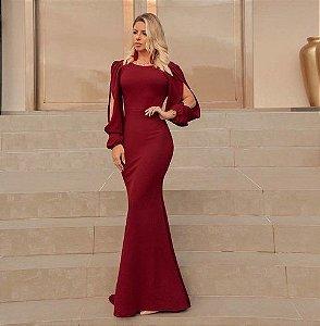 Dress Longo Glamour
