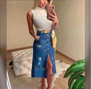 Saia Detroyed Jeans