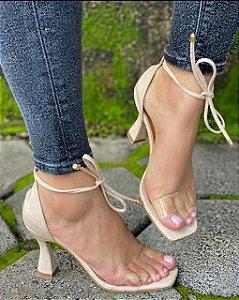 Sandália Salto Taça