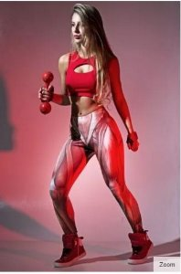 Legging Músculos Sublimada