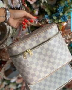 Necessarie Louis Vuitton Damier Azur