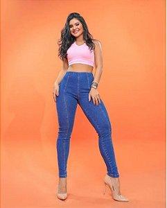 Calça Jeans Básica com Lycra