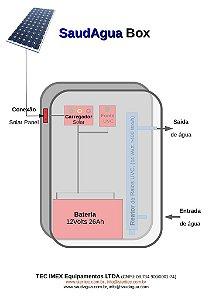 SaudAgua SolarBox-300, Purificador de água com energia solar