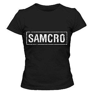 Camiseta Feminina Sons of Anarchy - SAMCRO
