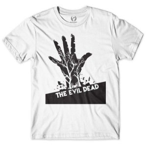 Camiseta The Evil Dead Branca