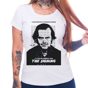 Camiseta Feminina The Shining - O Iluminado