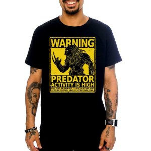 Camiseta Predador - Warning