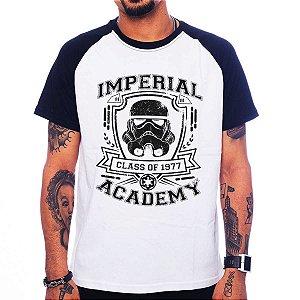Camiseta Raglan Star Wars - Imperial Academy