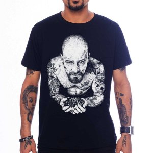 Camiseta Breaking Bad - Heisenberg Tattoo