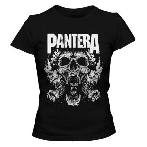Camiseta Feminina Pantera - Mouth For War