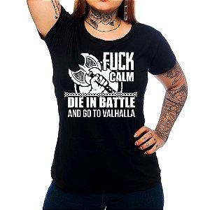 Camiseta Feminina Vikings - Go To Valhalla