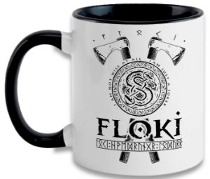 Caneca Vikings - Floki