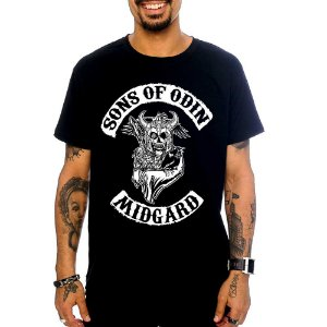 Camiseta Vikings - Sons of Odin