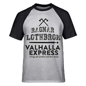 Camiseta Raglan Vikings - Valhalla Express
