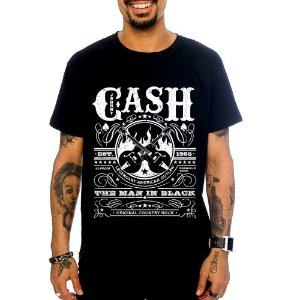 Camiseta Johnny Cash - Est 1955