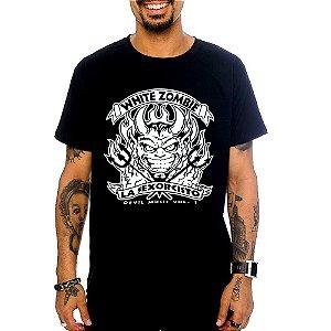 Camiseta White Zombie - Devil Music