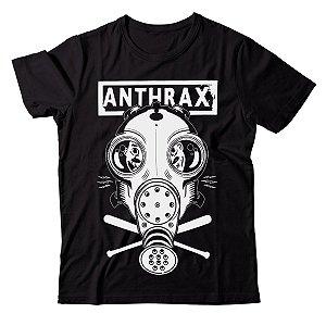 Camiseta Anthrax - Mask