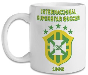 Caneca Allejo International Superstar Soccer