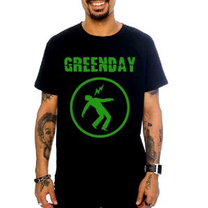 Camiseta Green Day - Warning