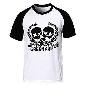 Camiseta Raglan Green Day - 21st Century Breakdown