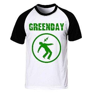Camiseta Raglan Green Day - Warning