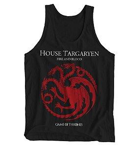 Regata Masculina Game of Thrones - House Targaryen