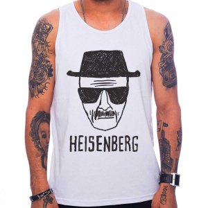 Regata Masculina Breaking Bad - Heisenberg