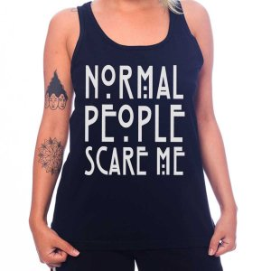 Regata Feminina American Horror Story - Normal People Scare Me