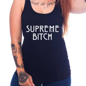 Regata Feminina American Horror Story - Supreme Bitch