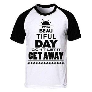 Camiseta Raglan U2 - Beautiful Day