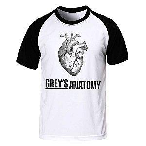 Camiseta Raglan Grey's Anatomy
