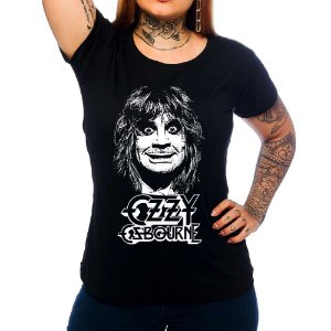 Camiseta Feminina Ozzy Osbourne