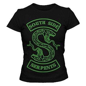 Camiseta Feminina Riverdale - Serpents