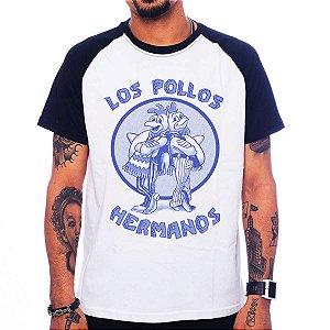 Camiseta Raglan Breaking Bad - Los Pollos Hermanos