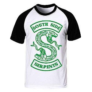 Camiseta Raglan Riverdale - Serpents