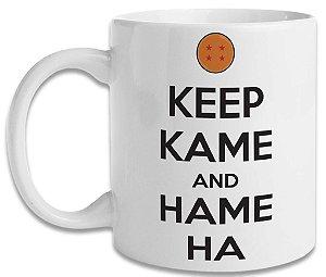Caneca Dragon Ball Keep Kame and Hame Ha