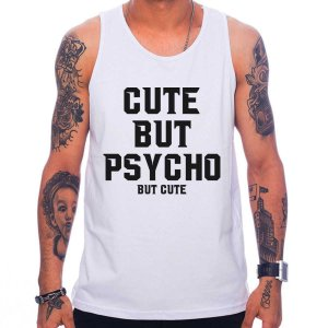 Regata Masculina Cute But Psycho