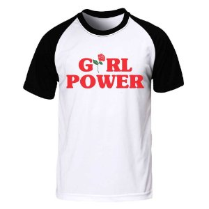 Camiseta Raglan Girl Power